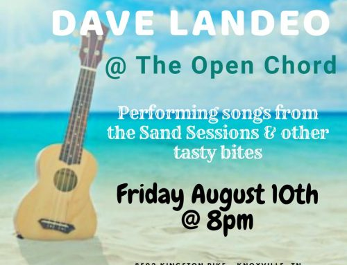 The Open Chord August 10th!  It's On!