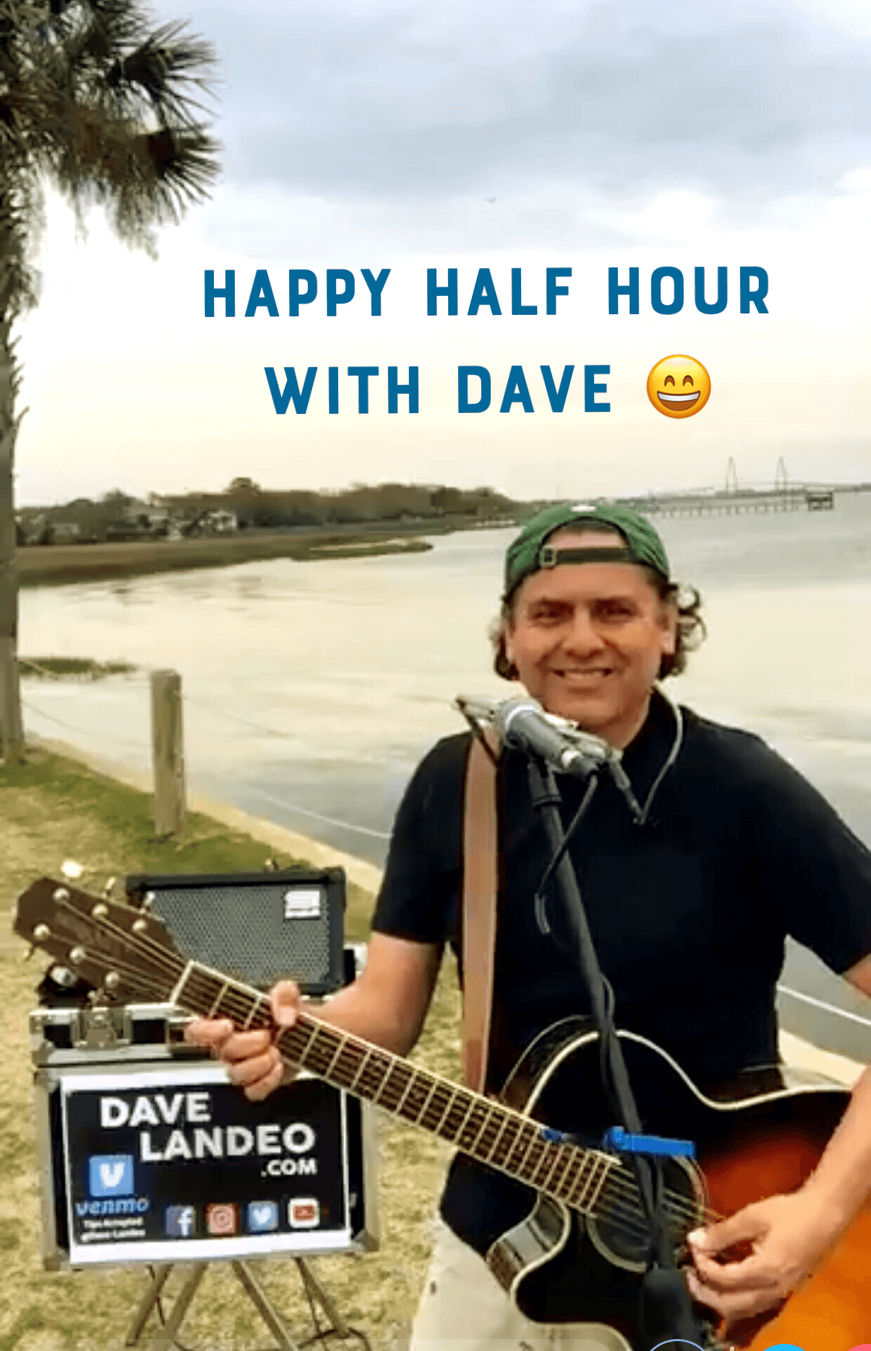 """Join me for """"Happy Half Hour"""" on Facebook Live!"""